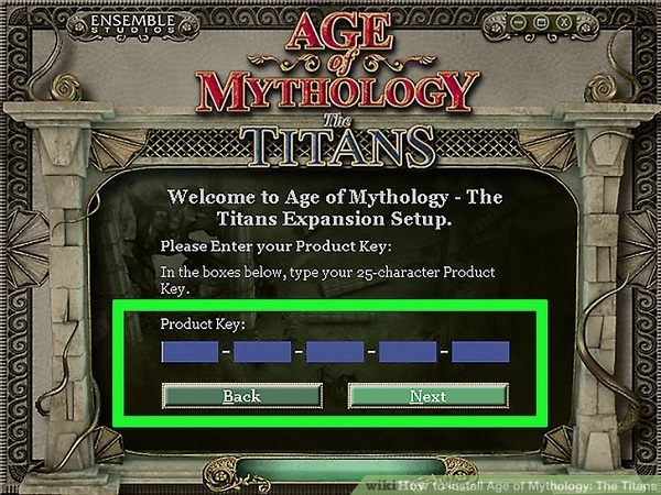 Age of Mythology key