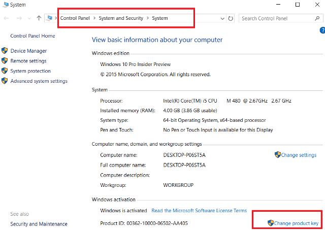 Free Windows 10 Home Product Key 2020
