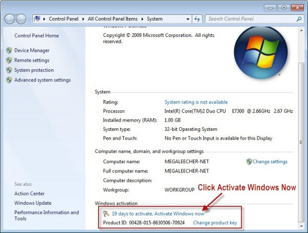 window 7 ultimate 64 bit activator free download