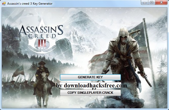 assassins creed 3 key