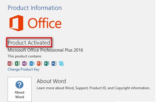 Ms Office Standard 2016 Buy Key
