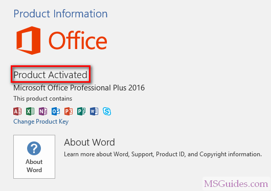 free product key microsoft word 2016