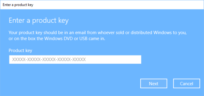 win 10 digital license to product key