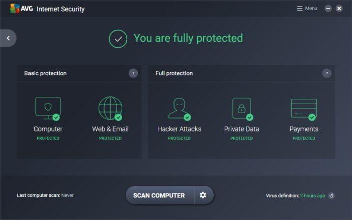 AVG Internet Security 2019 Free Key