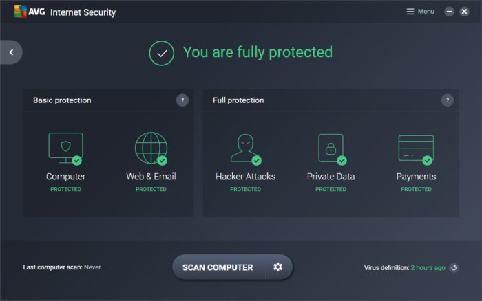 AVG Internet Security 2019 Free Key
