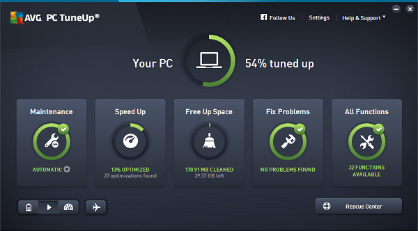AVG PC TuneUp 2020 Crack With Product Key Free Full Download[Latest]