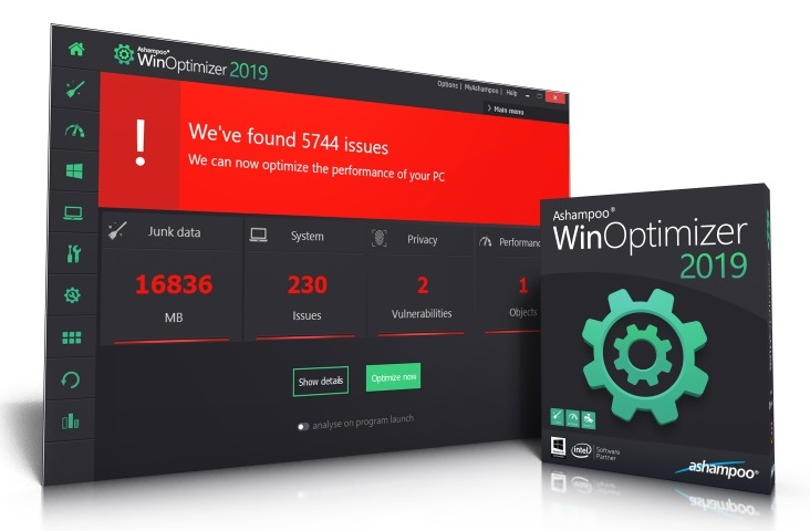 Ashampoo WinOptimizer 2019 Free for You