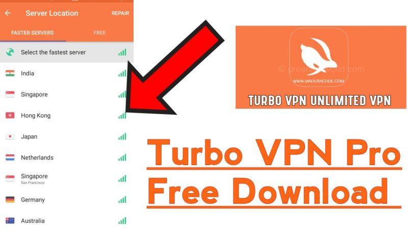 Download Turbo VPN For Android, iOS and PC