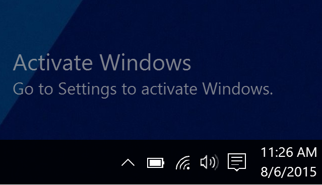 How To Remove Activate Windows 10 Watermark 2020