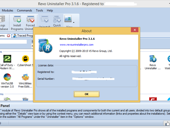 Revo Uninstaller 3.2.1 Pro Key Free 2019