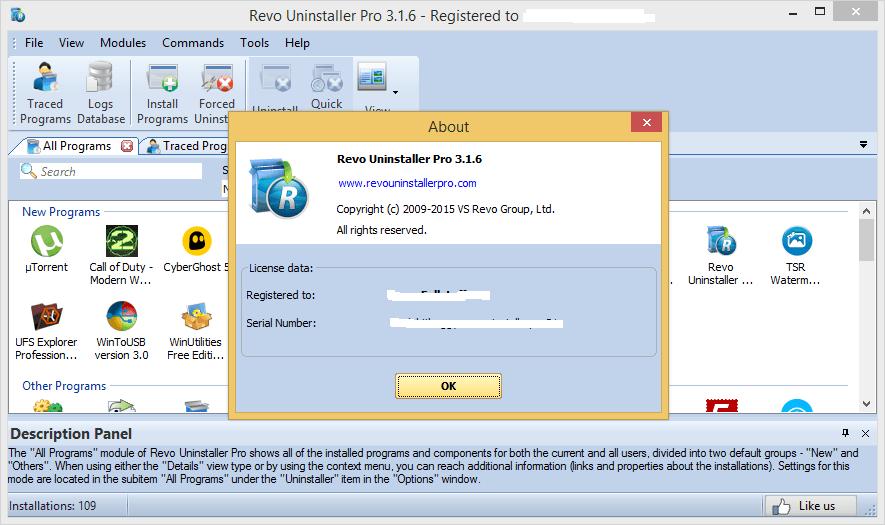 Revo Uninstaller 3.2.1 Pro Key Free 2019