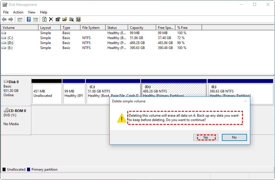 Cómo extender la partición con espacio no asignado en Windows PC 12
