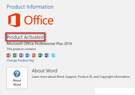 How To Activate MS Office